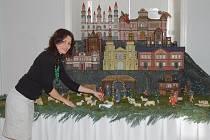 Výstava betlémů na zámku v Hrádku