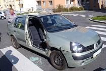 Nehoda v Klatovech