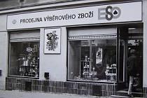 Vzpomínka na kdysi slavné klatovské obchody.