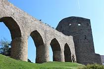 Buškova číše na hradě Velhartice.