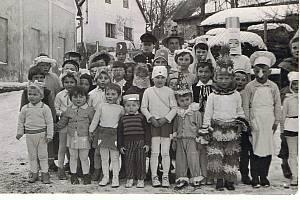 Maškarní v roce 1959. Foto: archiv