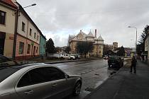 Ulice T. G. Masaryka v Sušici.