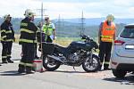 Nehoda v Klatovech.