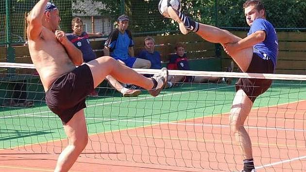 Nohejbalový turnaj ve Strážově