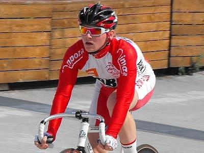Jaroslav Snášel kraluje letošním tabulkám dráhových cyklistů v kategorii kadetů.