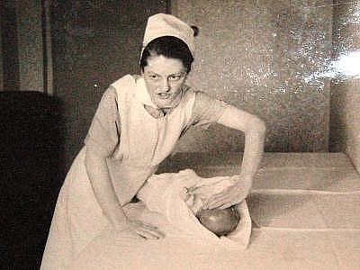Marie Fikáčková na archivním snímku