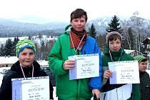 Medailisté ze zimní olympiády mládeže.
