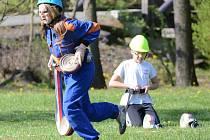 Dětská hasičská soutěž v Běšinech