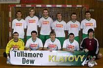 Futsalisté Tullamore Dew Klatovy zbraně ještě nesložili.