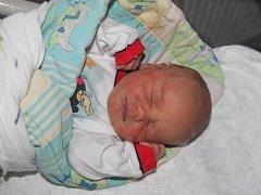 Vojtěch Matas z Přeštic (3630 gramů, 51 cm) se narodil v klatovské porodnici 28. prosince v 11.23 hodin. Rodiče Soňa a Luboš přivítali svého očekávaného synka na svět společně. Z brášky má radost i Kubíček (6).
