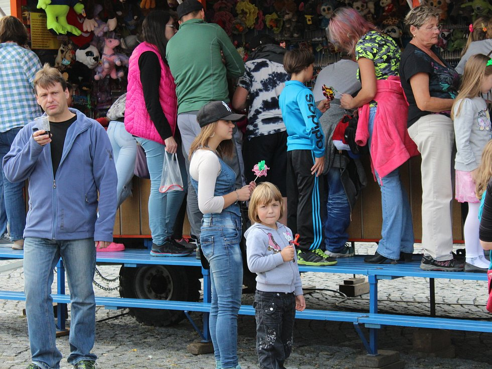 O víkendu se ve Strážově konala pouť.