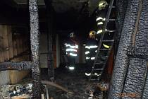 Požár ve Velharticích