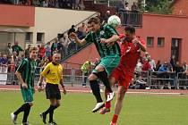 Fotbalisté TJ Sušice si zahráli v rámci oslav 100. výročí založení oddílu utkání s Czech Teamem 96.