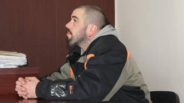 Václav Kopačka u klatovského soudu