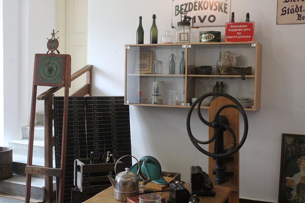 Muzeum šumavského pivovarnictví v Dešenicích.
