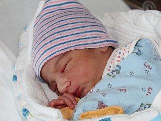 Alex Durda z Nýrska (3130 g, 48 cm) se narodil v klatovské porodnici 4. ledna ve 21.07 hodin. Maminka Margita věděla, že Margita (7), Adam (5) a Kristýna (4) budou mít brášku.