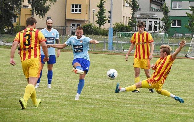 Junior Strakonice - SK Klatovy 1898 (modří).
