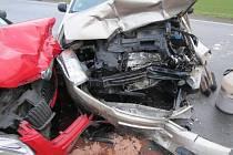 Dopravní nehoda u Janovic nad Úhlavou