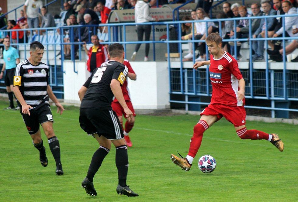 1. kolo FORTUNA divize A: SK Klatovy 1898 vs. České Budějovice B 0:2 (0:0).
