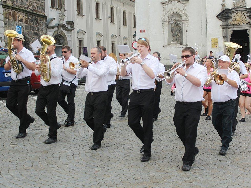 V sobotu 3. června se v Klatovech konal 6. ročník Avon pochodu.