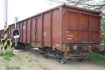 Vagony vykolejily u Malonic.
