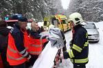 Dopravní nehoda u Srní