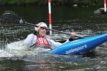 Sušické závody ve vodním slalomu 2016: Vítek Pohanka