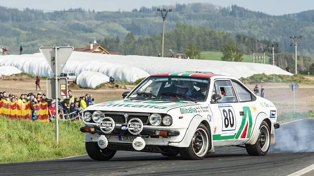 Rallye Šumava Klatovy.