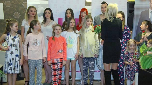 Jarní módní přehlídka v Klatovech.