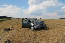 Nehoda u Štěpánovic.