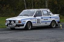V cílové fotobuňce Jan Šuba, Horažďovice, Škoda 130 LR