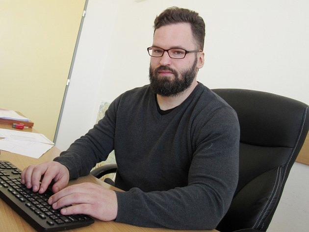 Ředitel Nemocnice Sušice Martin Straka.