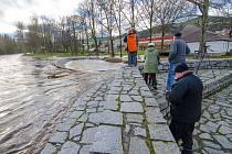 Otava vystrčila drápky v Sušici