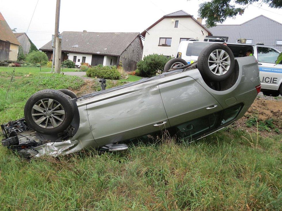 Nehoda v Petrovicích u Sušice.