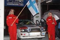 Historic Vltava Rallye 2011, předstartovní show