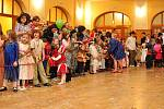 Děti se bavily na maškarním plese