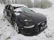 Dopravní nehoda u Onoho Světa.