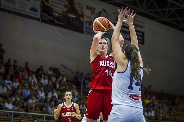 Itálie vyhrála mistrovství Evropy basketbalistek do 20let, které se letos konalo vKlatovech.