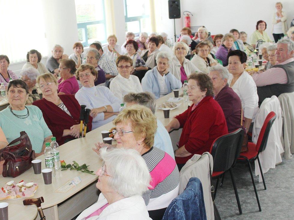 Otevření Klubu seniorů v Klatovech.