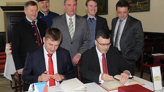 Setkání ministrů v Alžbětíně.