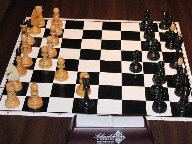 šachy ilustrační foto