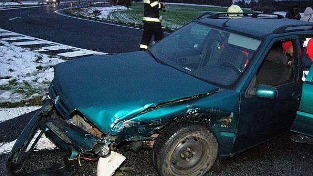 Podvečerní nehoda na Bukováku