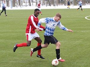 Fotbal, příprava: Mochtín - Luby, UMT Sušice
