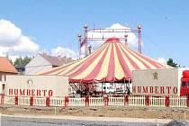 Cirkus Humberto hraje v Klatovech od středy 28. července do neděle 1. srpna