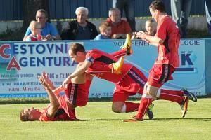 Klatovští fotbalisté se loučili s krajským přeborem.