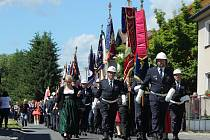 Oslavy 120 let od založení sboru dobrovolných hasičů v Lubech 2016