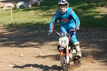 Na motokrosové trati v Hradišti u Mochtína se jel třetí závod JBR cupu.