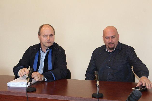 Policista David Žák uklatovského soudu.