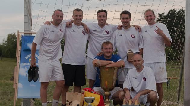 Vítězové 21. ročníku Atrium Cupu – Houba Team Horažďovice.