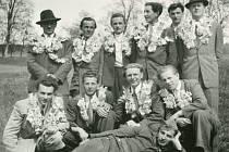 Archivní foto z historie Nezdic na Šumavě.